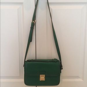 NWOT Street Level Green Crossbody Purse